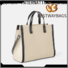 Bestway Best canvas leather bag factory for shopping