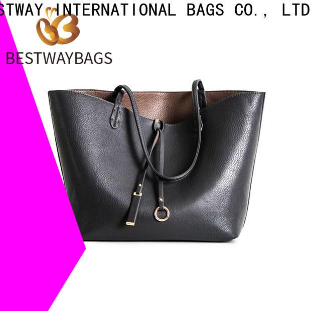 Bestway designer tan leather handbags Supply for school