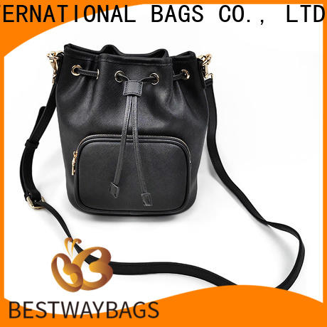 Wholesale ladies leather handbags on sale classic Supply for work