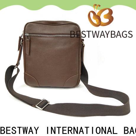 Bestway Top real leather handbags sale factory for work