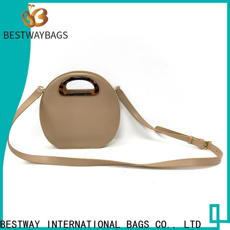 Bestway leather wholesale pu handbags online for ladies