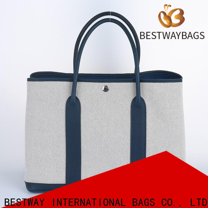 Bestway Custom fashionable canvas bags company for relax