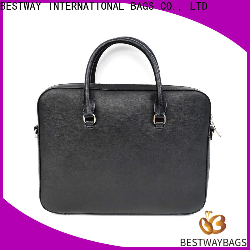 Bestway New red leather handbags manufacturer for daily life