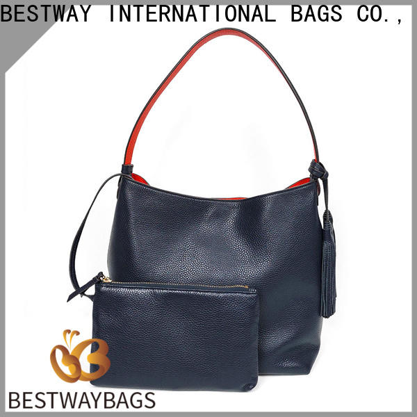 Bestway Wholesale leather shoulder bag factory for daily life