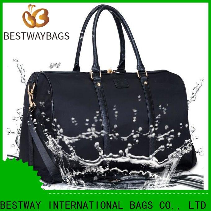 Bestway large large nylon handbags factory for bech
