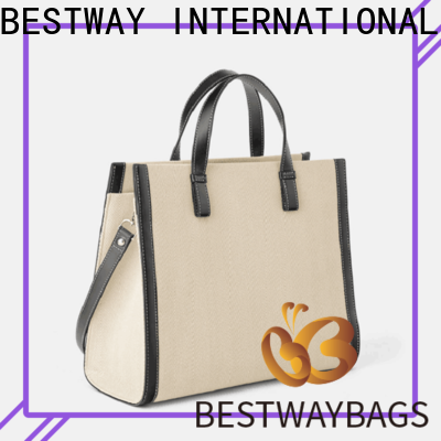 Bestway canvas cotton canvas bags wholesale for vacation