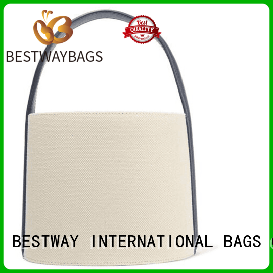Bestway shoulder personalized canvas tote bags wholesale for travel