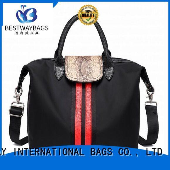 Bestway light nylon cross body handbags supplier for bech