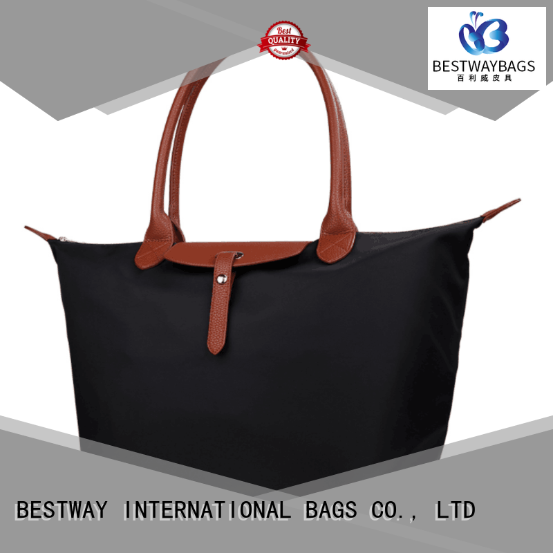 capacious nylon satchel handbag fashion supplier for bech