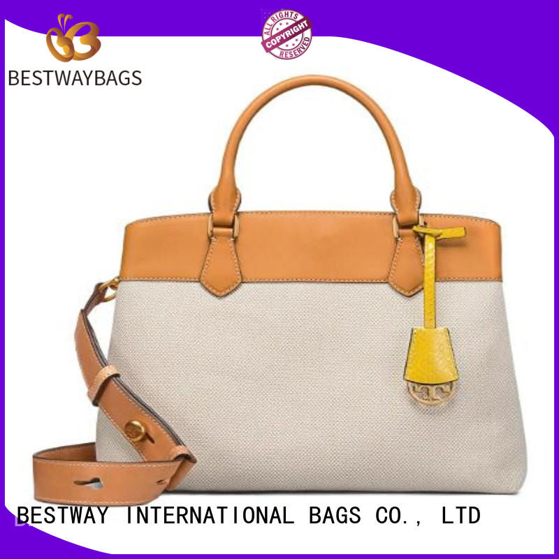 easy match canvas bag white personalized for shopping