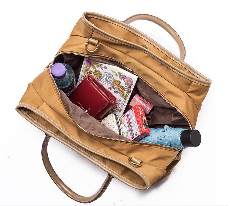 Bestway light ladies nylon handbags personalized for sport-1
