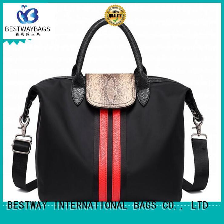 Bestway women nylon shoulder bag supplier for sport