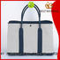 Bestway standard striped canvas tote bag factory for holiday