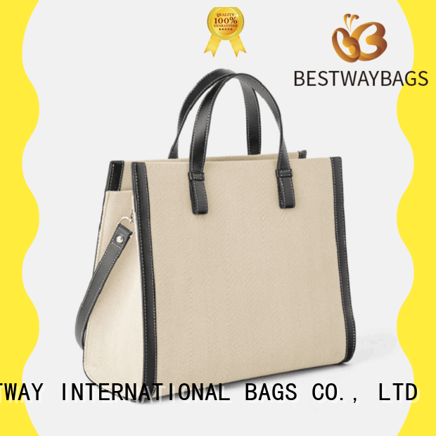 Bestway special crossbody canvas tote bag personalized for travel