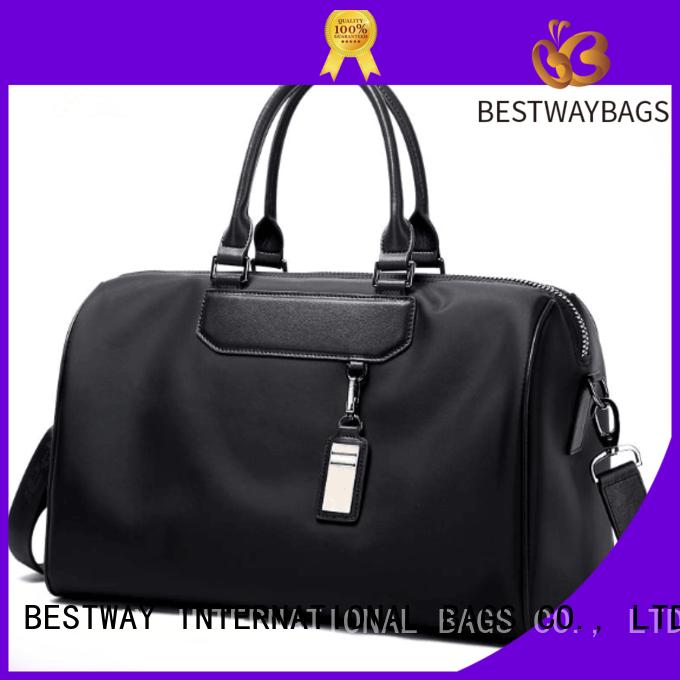 capacious nylon tote handbag large supplier for swimming
