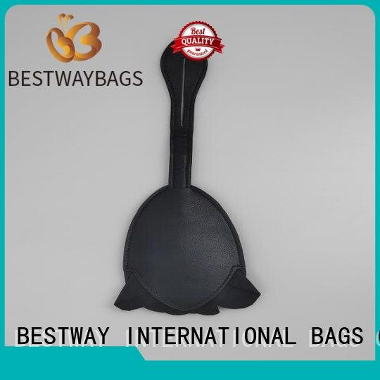2019 Fashion Custom Leather Logo Charm For Handbag