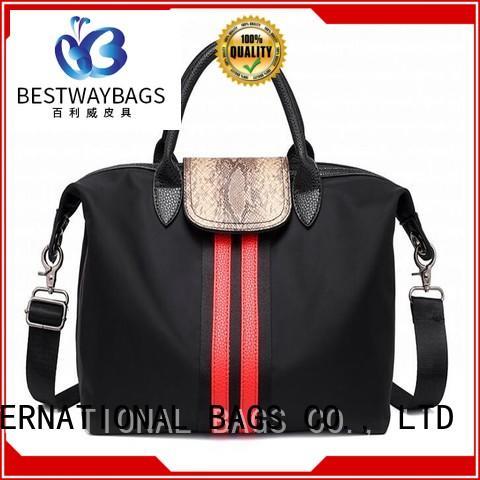 Bestway capacious nylon handbags foldable for sport