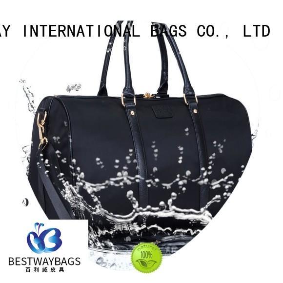 Bestway shoulder ladies nylon handbags on sale for gym