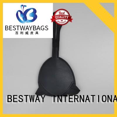Bestway fashion leather purse charm manufacturer for bag