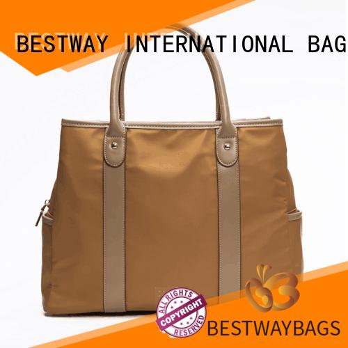Bestway capacious nylon shoulder bag on sale for bech