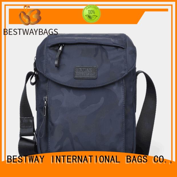 light waterproof nylon bag men personalized for bech