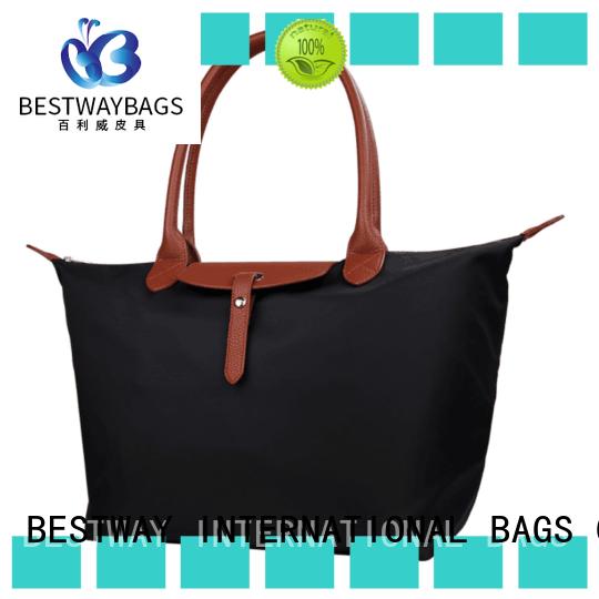 capacious nylon cross body handbags foldable wildly for swimming