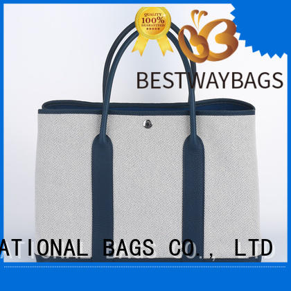Bestway multi function custom canvas bags factory for shopping