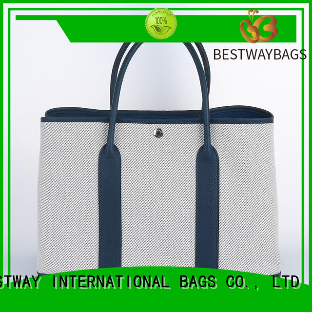 easy match personalised canvas bags bucket wholesale for shopping