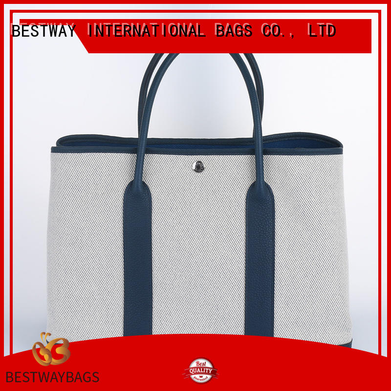 innovative canvas tote shopper bag logo factory for vacation