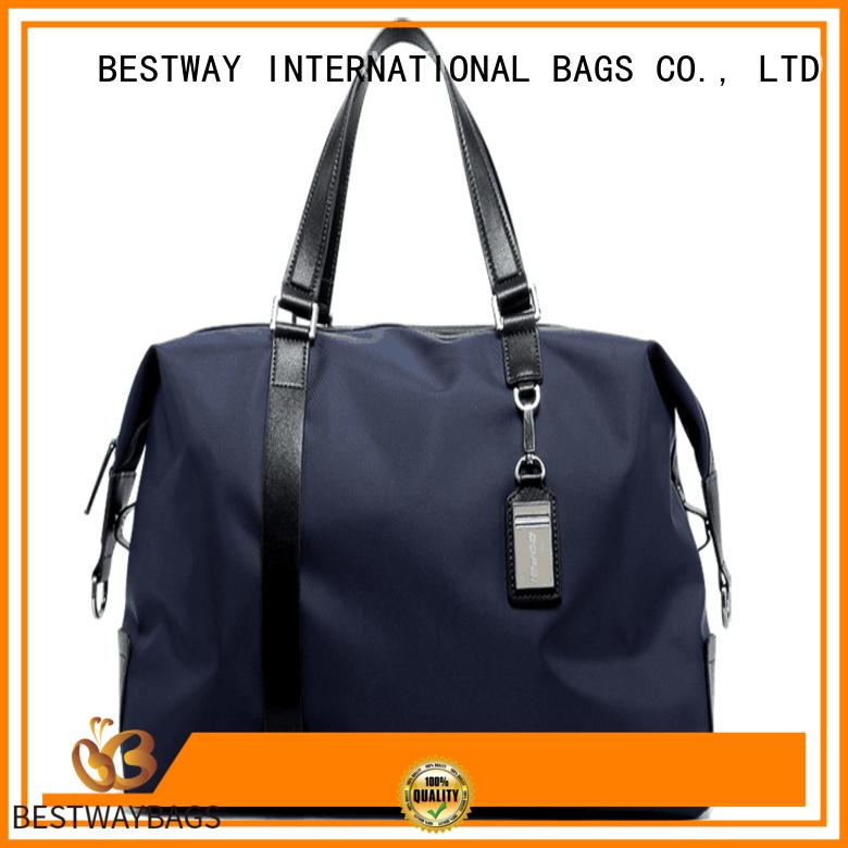 Bestway elegant nylon satchel handbag on sale for bech
