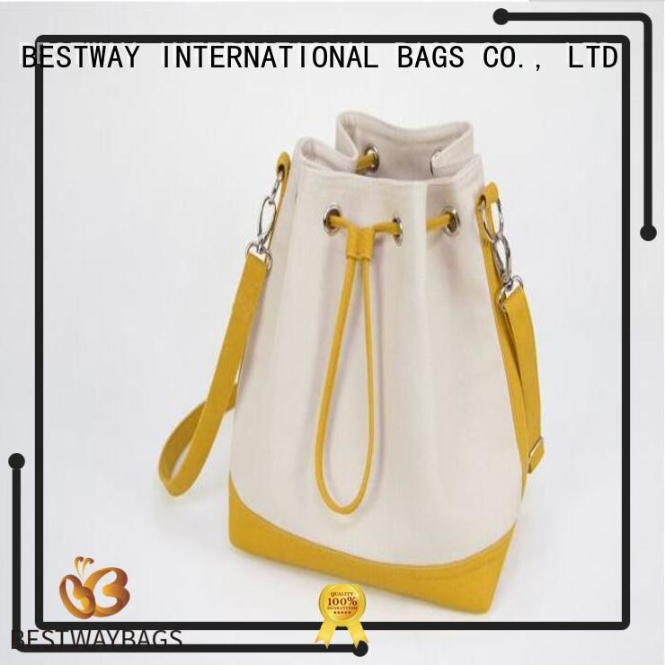 special canvas tote with leather handles logo wholesale for holiday
