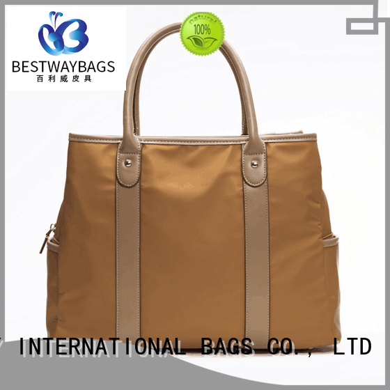 capacious nylon handbags bag wildly for bech