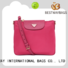 Bestway durable nylon handbags with leather handles wildly for gym
