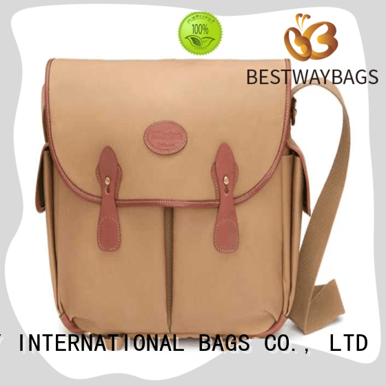 Bestway shoulder canvas bag personalized for relax
