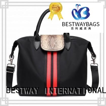 Bestway shop nylon tote bags personalized for bech