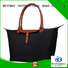 Bestway leather nylon handbags supplier for bech