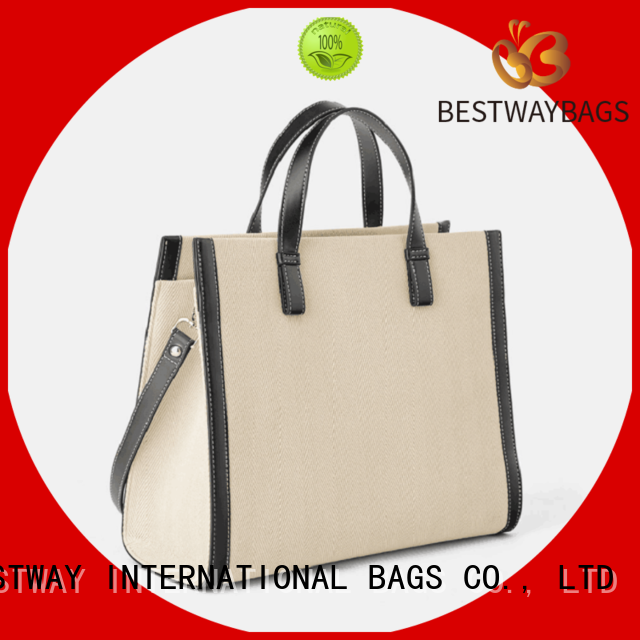large crossbody canvas tote bag factory for relax Bestway