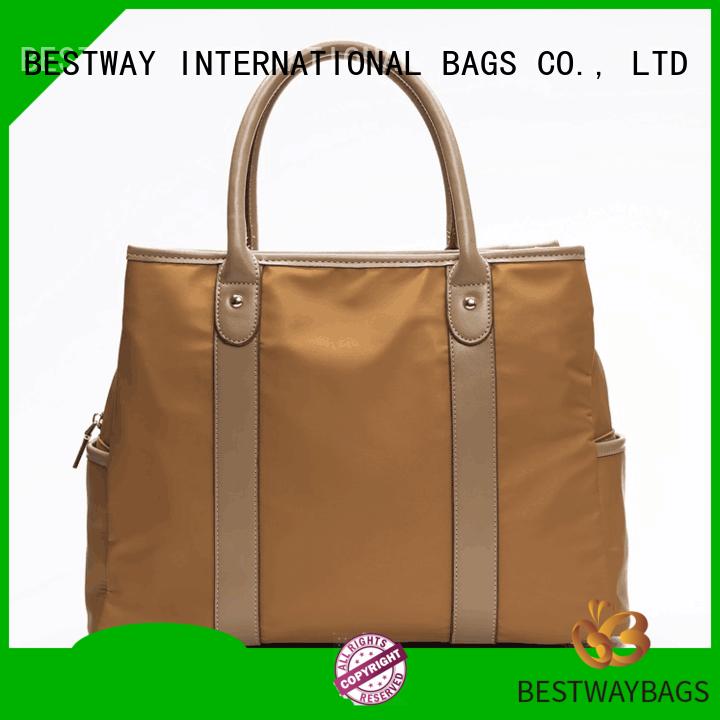 Bestway handbag nylon handbags personalized for bech
