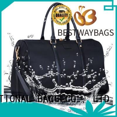 strength nylon tote handbag supplier for bech Bestway