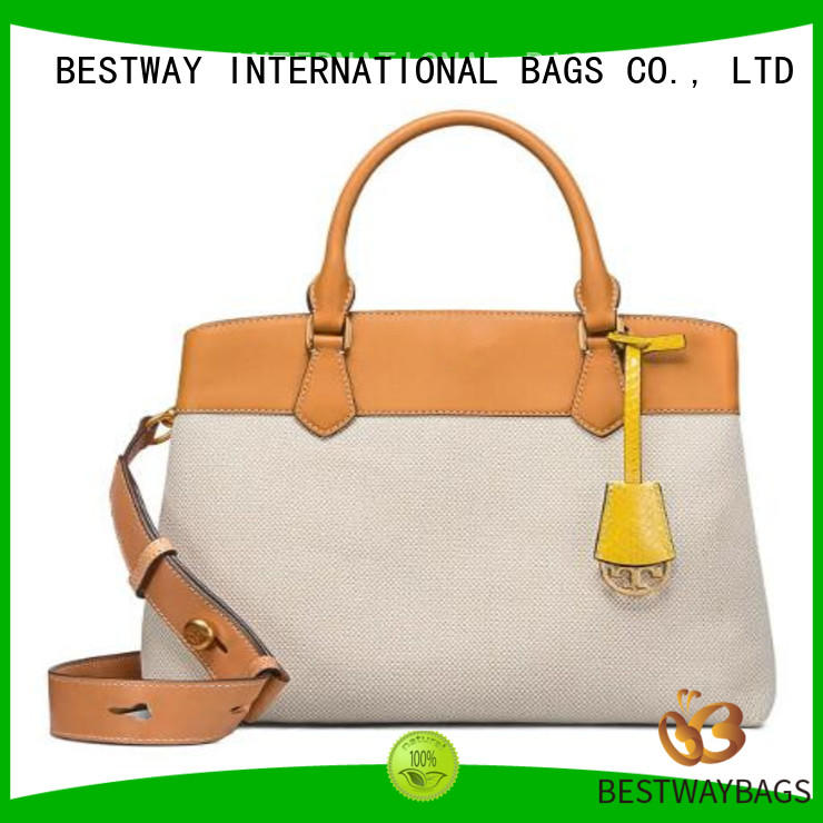 Bestway easy match canvas handbags factory for relax