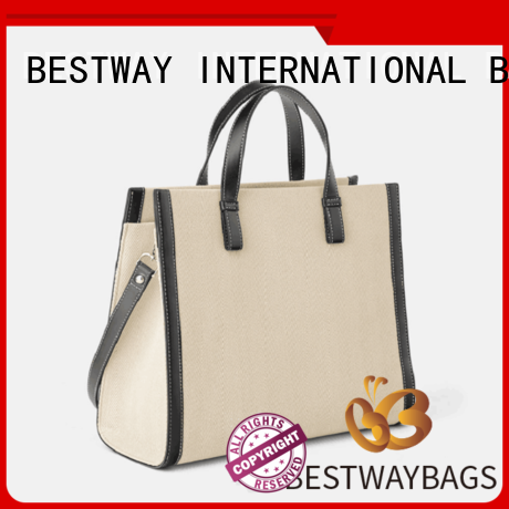 plain canvas tote factory for shopping Bestway