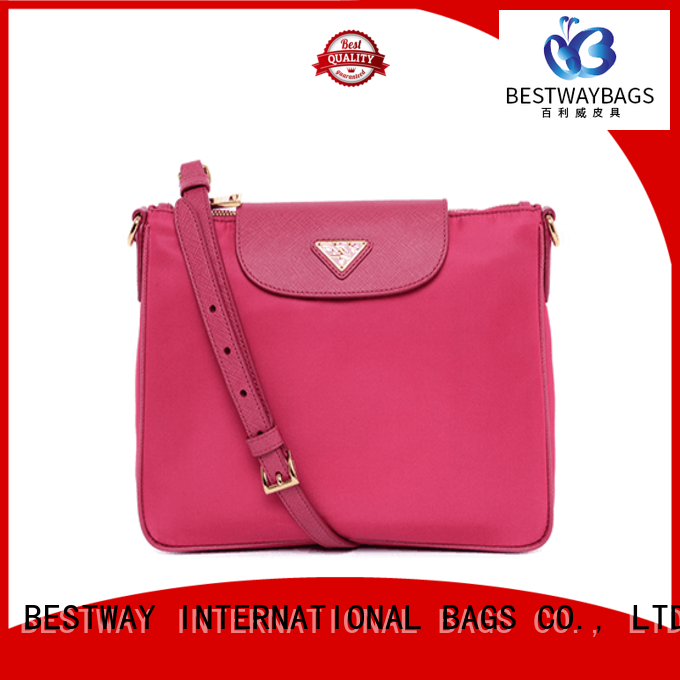 durable nylon handbags with leather handles leather on sale for gym