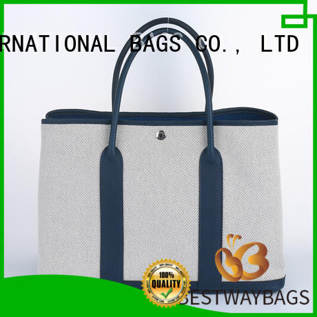 Bestway multi function canvas leather bag canvas for relax