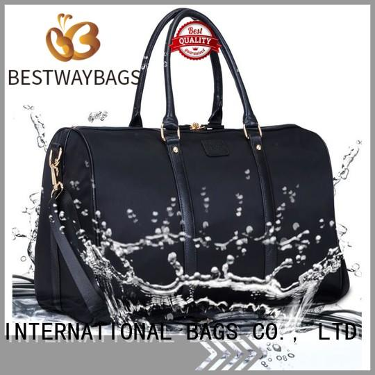 Bestway capacious nylon tote bags supplier for bech