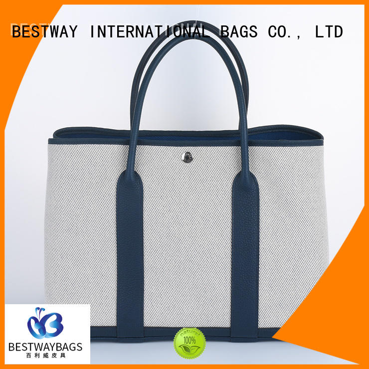 Bestway beautiful canvas bag wholesale for travel