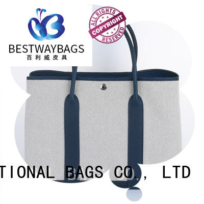 Bestway easy match canvas tote wholesale for relax