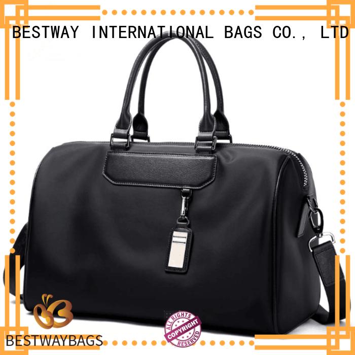 Bestway durable nylon cross body handbags wildly for bech