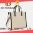 Bestway logo canvas tote shopper bag wholesale for travel