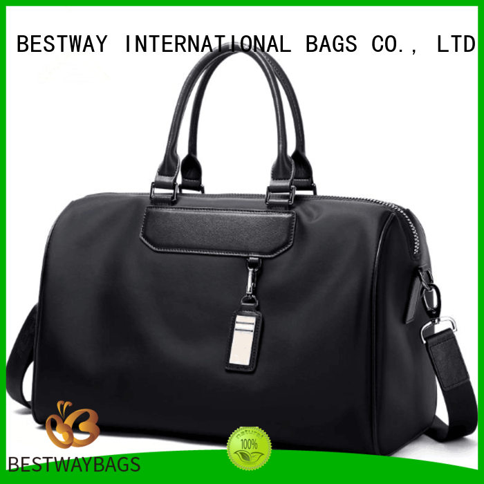 Bestway capacious nylon tote bags personalized for gym
