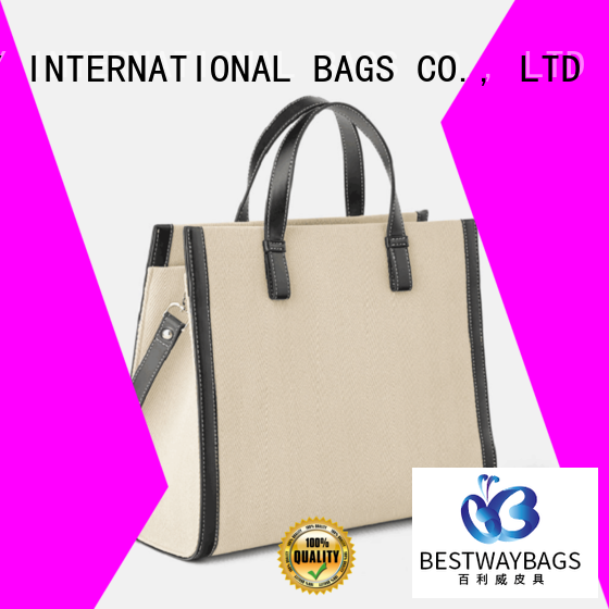 multi function designer canvas tote messenger factory for relax